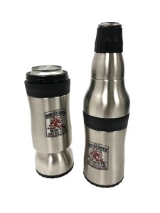 Bar-Ba-Brew Orca Rocket 2-in-1 Can and Bottle Holder